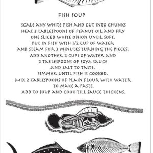 Fish Soup - Tea Towel