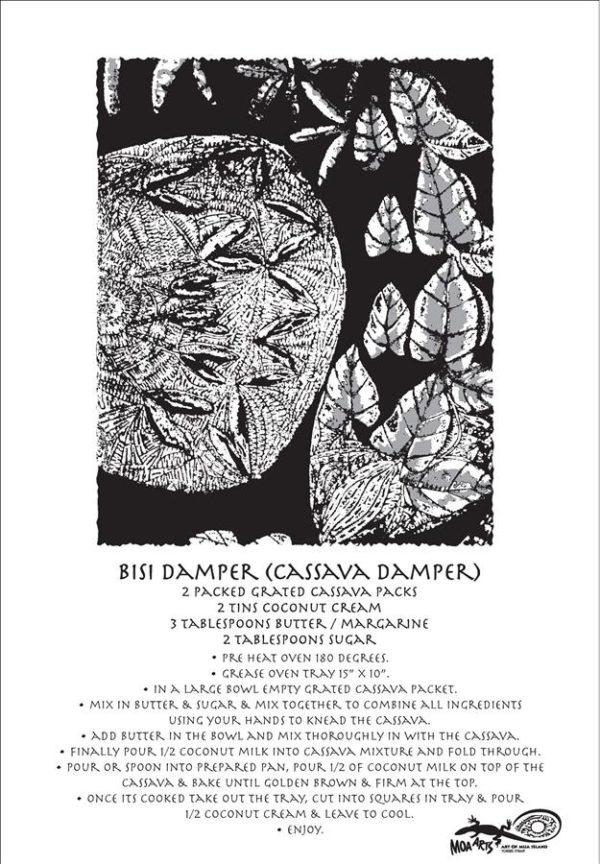 Bisi Damper Cassava Damper - Tea Towel